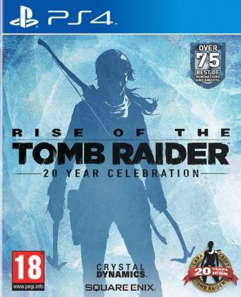 rise of the tomb raider 20 year celebration day one limited ps4